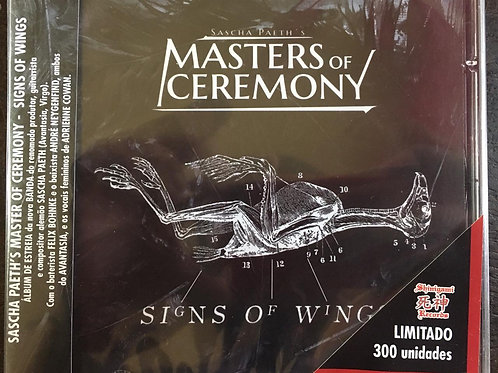 CD Sascha Paeth's Masters Of Ceremony - Signs Of Wings - Lacrado