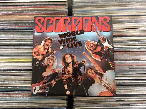 LP Scorpions - World Wide Live - Duplo - C/ Encarte - Capa Dupla