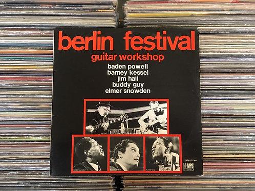 LP Berlin Festival Guitar Workshop - Capa Dupla