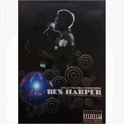 DVD Ben Harper - Live At The Hollywood Bowl - Lacrado