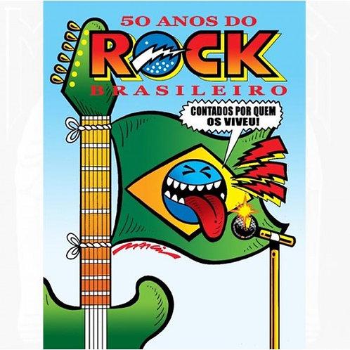 DVD 50 Anos Do Rock Brasileiro - Duplo - Lacrado