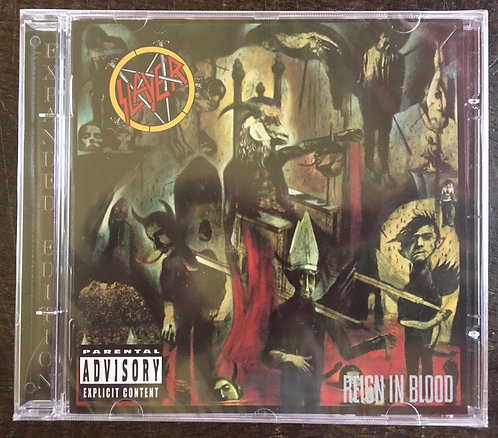 CD Slayer - Reign In Blood - Lacrado