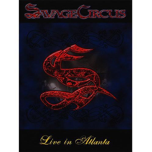 DVD Savage Circus - Live In Atlanta - Lacrado