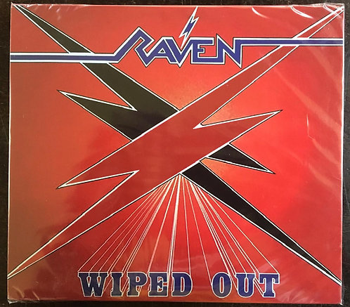 CD Raven - Wiped Out - Slipcase - Lacrado