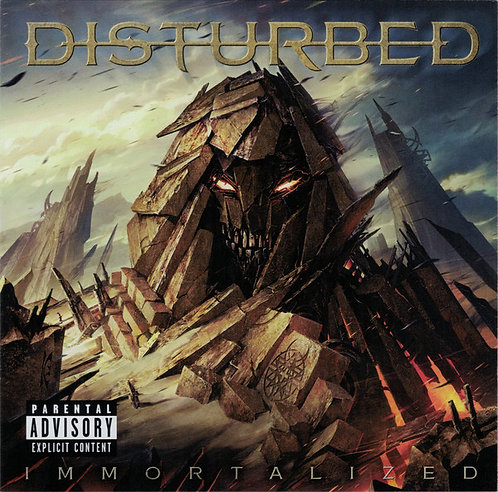 CD Disturbed - Immortalized - Lacrado