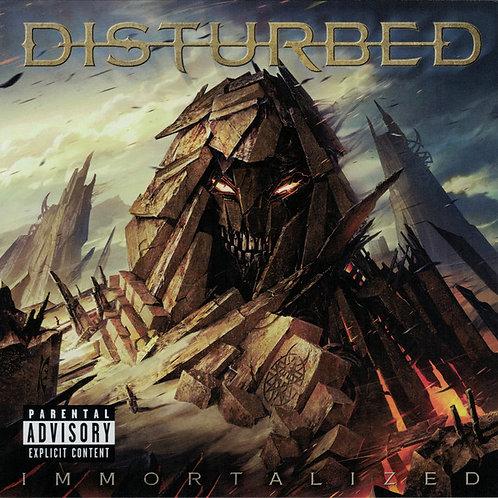 CD Disturbed - Immortalized - Lacrado