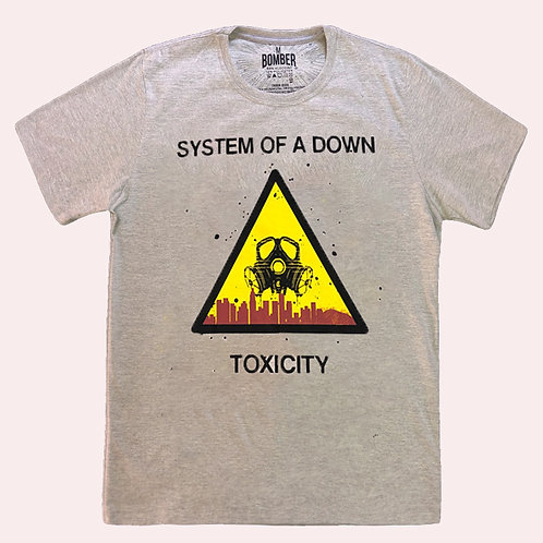 Camiseta System Of  Down - Toxicity - Bomber