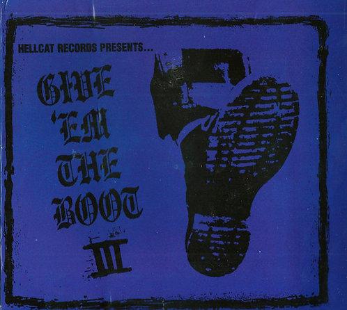 CD Give 'em The Boot III - Vários Artistas - Digipack - Lacrado