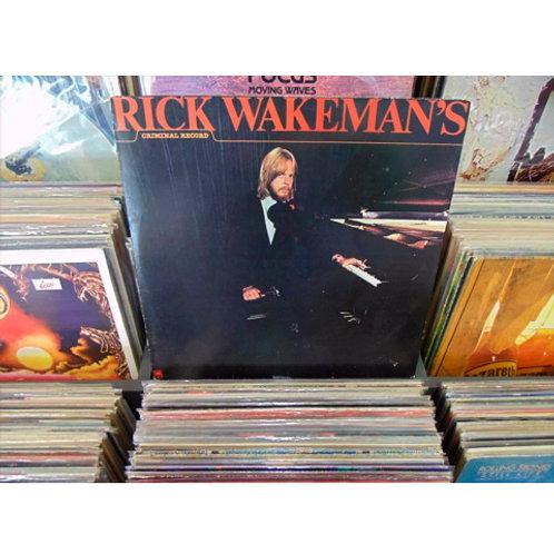 LP Rick Wakeman - Rick Wakeman's Criminal Record - Com Encarte