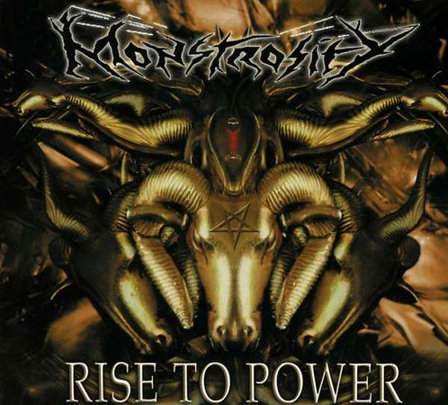 CD Monstrosity - Rise To Power - Importado - Digipack - Lacrado