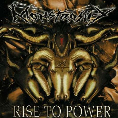 CD Monstrosity - Rise To Power - Importado - Digipack - Lacrado
