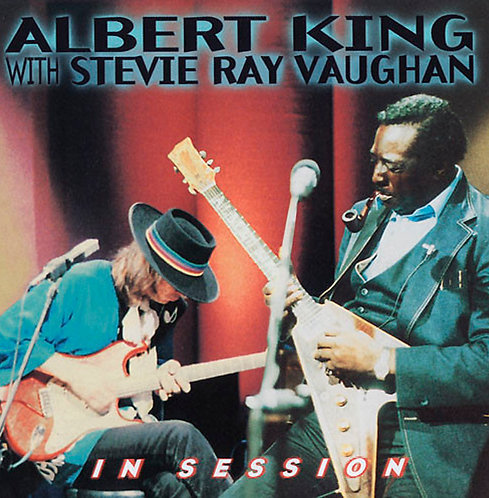 CD Albert King With Stevie Ray Vaughan - In Session (Usado)
