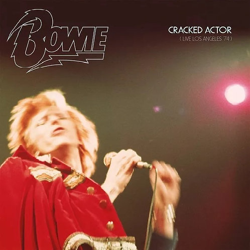 CD David Bowie - Cracked Actor - Live Los Angeles '74 - Duplo