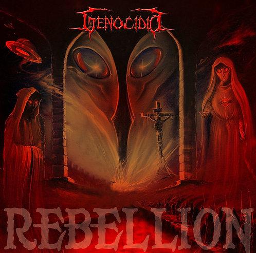 CD Genocidio - Rebellion - Digipack - Lacrado