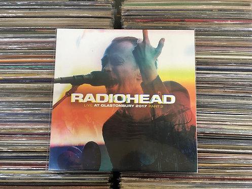 LP Radiohead - Live At Glastonbury 2017 Part2 - Importado - Lacrado