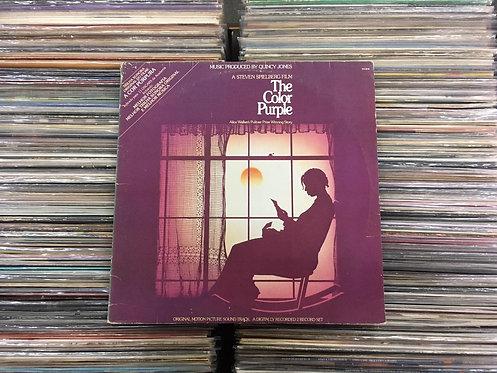 LP The Color Purple - Trilha Sonora Original Do Filme - Duplo