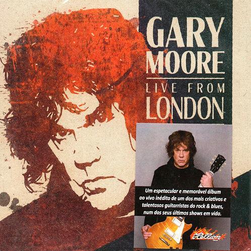 CD Gary Moore - Live Fron London - Digipack - Lacrado