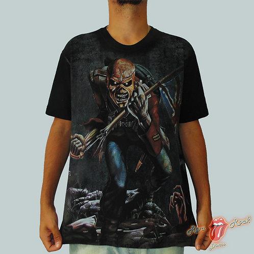 Camiseta Iron Maiden - The Trooper -  Stamp Premium