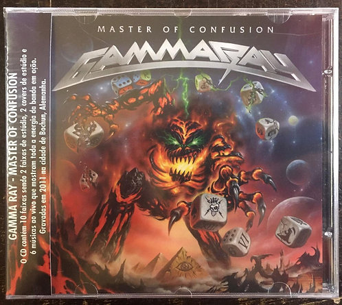 CD Gamma Ray - Master Of Confusion - Lacrado