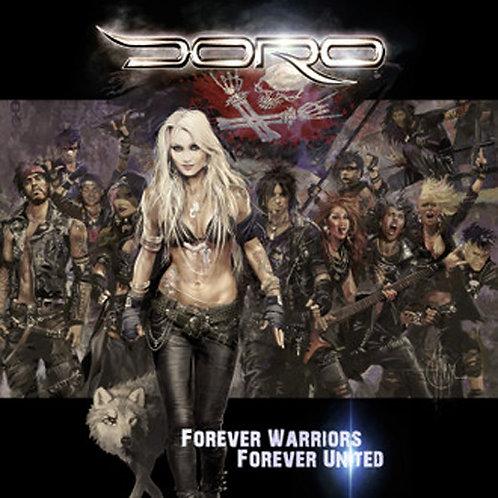 CD Box - Doro - Forever Warriors Forever United - Duplo - Lacrado