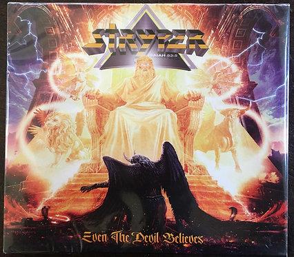 CD Stryper - Even The Devil Believes - Slipcase - Lacrado