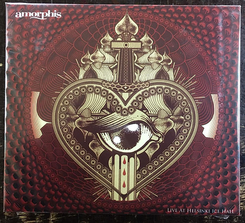 CD Amorphis - Live At Helsinki Ice Hall - Duplo - Digipack - Lacrado