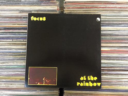 LP Focus - At The Rainbow - Capa Dupla