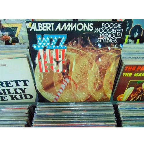 LP Albert Ammons - Jazz Masters Vol. 12 - Boogie Woogie Piano Stylings