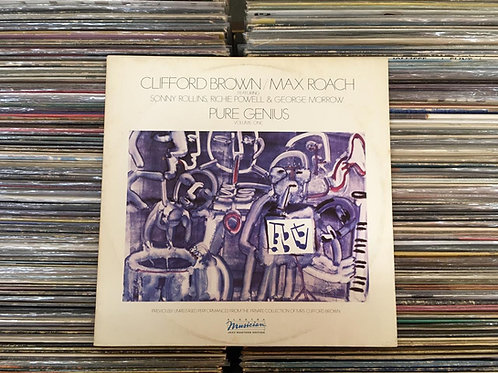 LP Clifford Brown & Max Roach - Pure Genius - Vol. 1