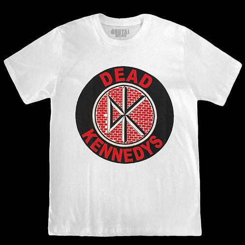 Camiseta Dead Kennedys - Logo - Branca - Brutal