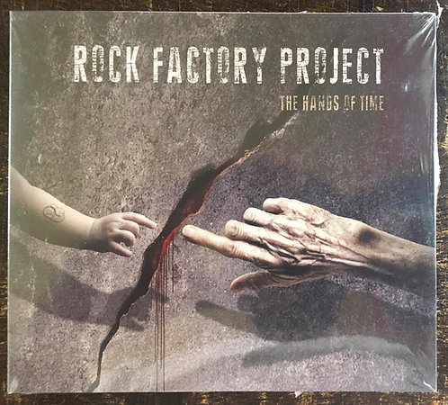CD Rock Factory Project - The Hands Of Time - Digipack