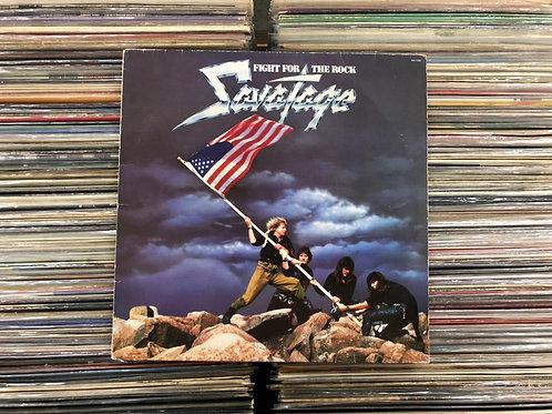 LP Savatage - Fight For The Rock - Com Encarte