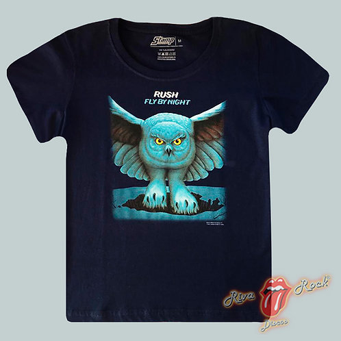 Camiseta Baby Look Rush - Fly By Night - Stamp