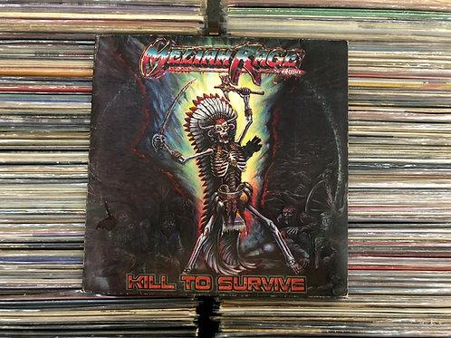 LP Meliah Rage - Kill To Survive - C/ Encarte