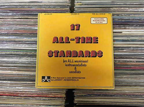 LP Jamey Aebersold - 17 All-time Standards - Duplo - Importado