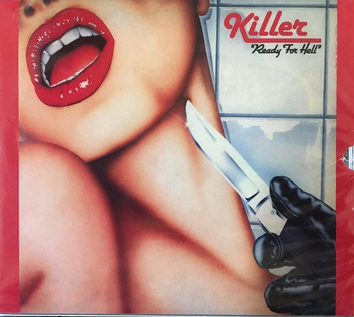 CD Killer - Ready For Hell - Slipcase - Lacrado