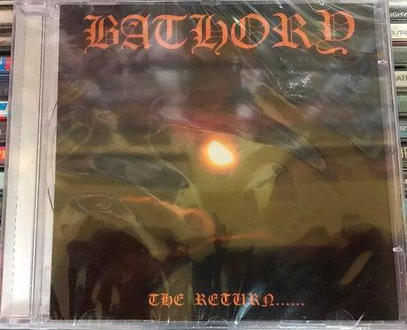 CD Bathory - The Return...... - Importado - Lacrado
