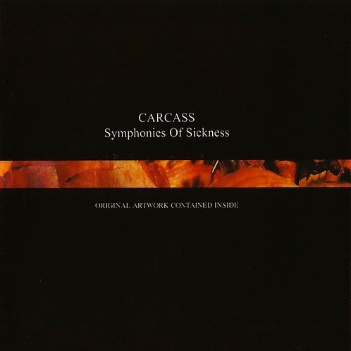 CD Carcass - Symphonies Of Sickness - Importado - Lacrado