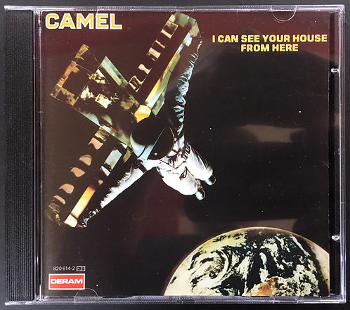 CD Camel - I Can See Your House From Here - Importado