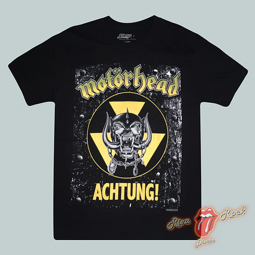 Camiseta Motörhead - Achtung! - Stamp