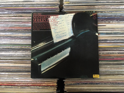 LP Masters Of The Modern Piano 1955-1966 - Duplo - Capa Dupla