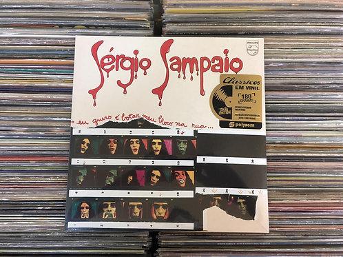LP Sérgio Sampaio – Eu Quero É Botar Meu Bloco Na Rua - Lacrado