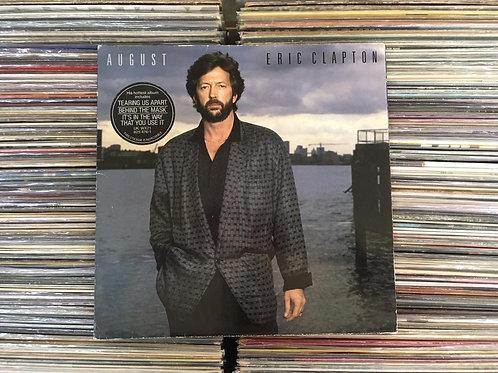 LP Eric Clapton - August - Importado - Capa Dupla