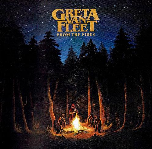 CD Greta Van Fleet - From The Fires - Lacrado