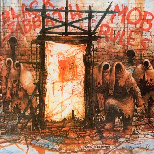 CD Black Sabbath - Mob Rules - Slipcase - Lacrado
