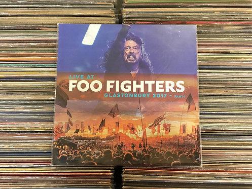 LP Foo Fighters - Live At Glastonbury 2017 - Part1 - Importado - Lacrado