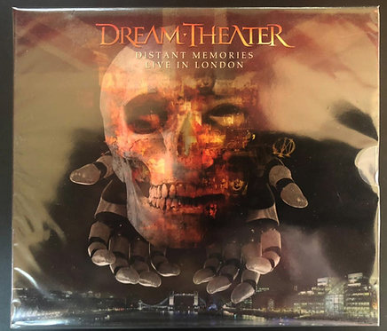 CD Dream Theater - Distant Memories (BOX C/ 3 CDs + 2 DVDs) - Slipcase - Lacrado
