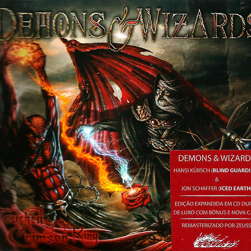 CD Demons & Wizards - Touched By The Crimson King - Duplo