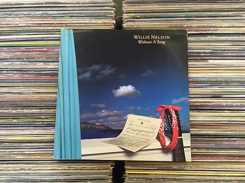 LP Willie Nelson - Without A Song