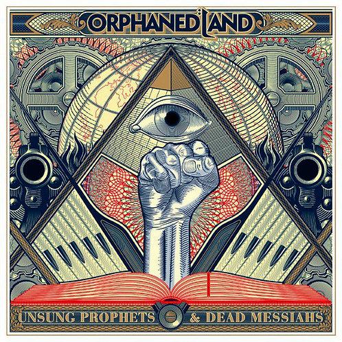 CD Orphaned Land - Unsung Prophets & Dead Messiahs - Lacrado